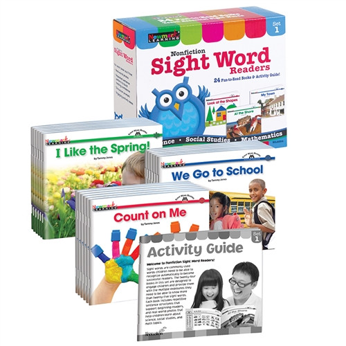 Nonfiction Sight Word Readers Set 1 Early Readers Boxed Set