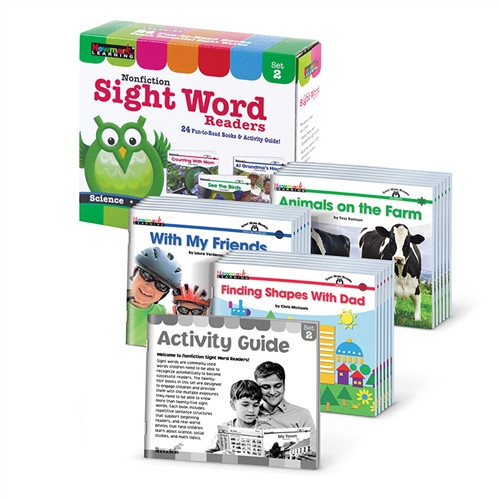 Nonfiction Sight Word Readers Set 2 Early Readers Boxed Set