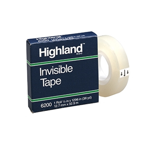 Highland Invisible Tape 0.5 in. x 1296 in.