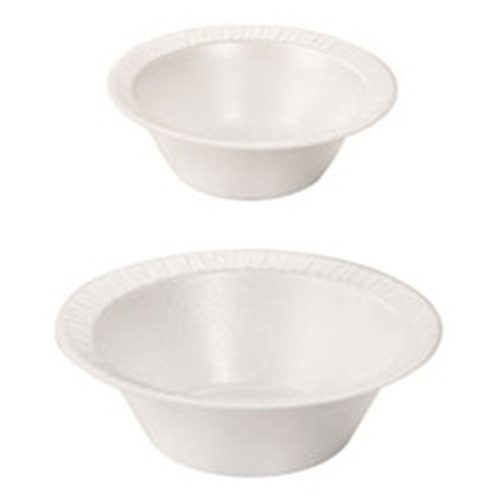 12 Ounce Disposable Laminated Foam Bowls