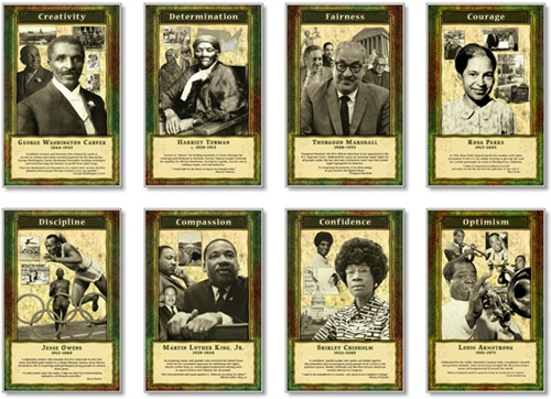 Leaders and Achievers Bulletin Board Set 11 in. x 17 in.