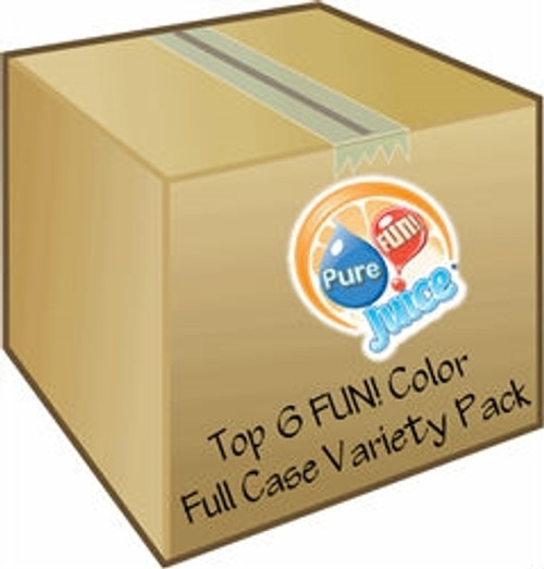 full case pack of juice concentrate mix