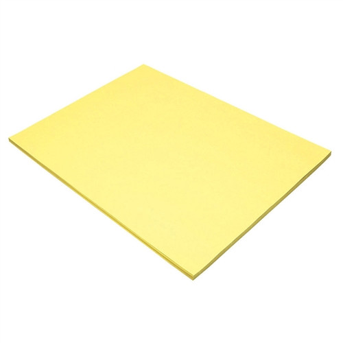 Light Yellow Construction Paper - 18 in. x 24 in.
