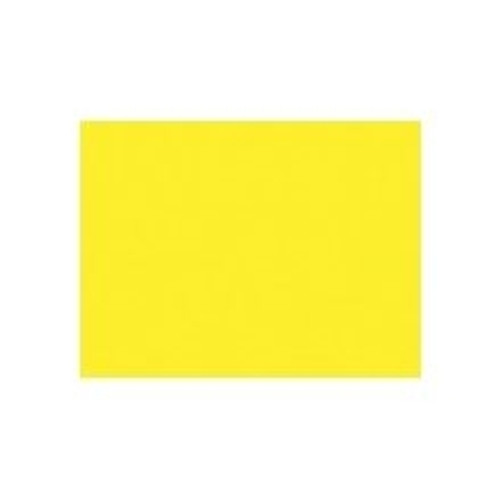 Peacock Lemon Yellow 25Ct 6 Ply 22 in. x 28 in. Poster Board
