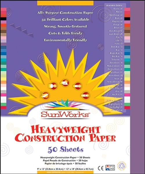 Construction Paper Violet - 12 in. x 18 in.
