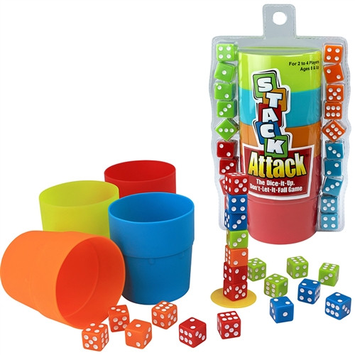 Stack Attack The Dice It Up Dont Let It Fall Game