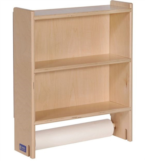 Angeles / Steffy Wood Changing Table Paper Holder Shelf