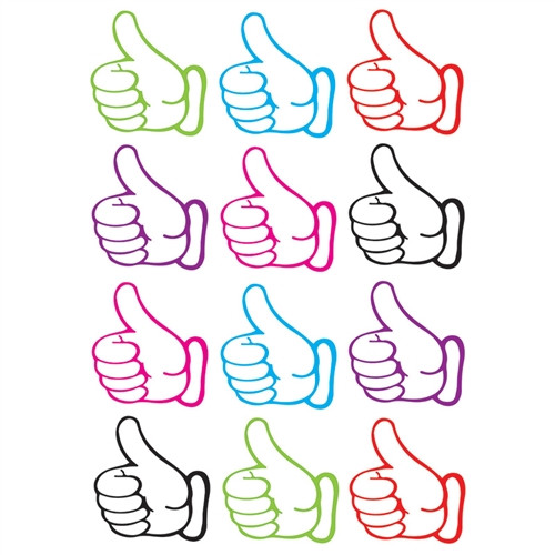Thumbs Up Die Cut Magnets