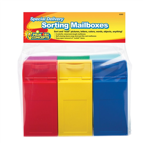 Sorting Mailboxes - 6.5 in. x 3 in. x 2.25 in.