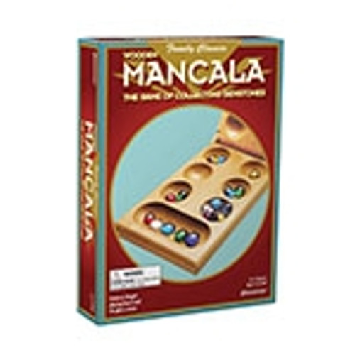 Mancala Ages 6 To Adult 2-4 Players