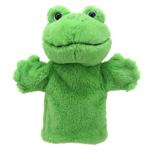 Puppet Buddies Frog - 9.8 in. x 8.6 in. x 4.7 in.