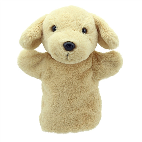 Puppet Yellow Buddies Labrador - 9.8 in. x 8.6 in. x 4.7 in.