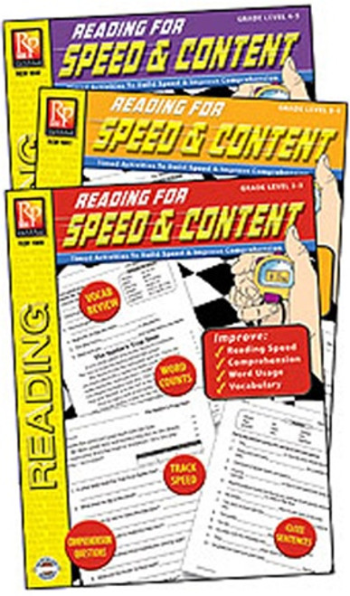 Reading For Speed & Content 3-Set