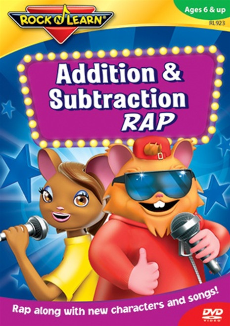 Addition And Subtraction Rap On Dvd