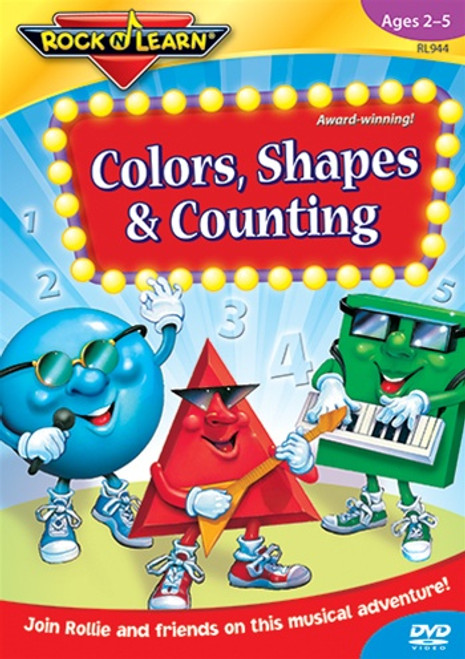 Colors Shapes & Counting Dvd