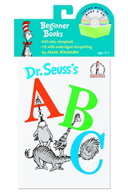 Dr Seuss ABC Carry Along Book and CD