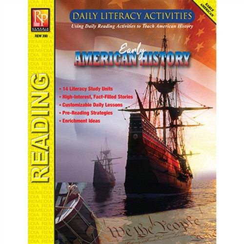 Daily Literacy Activities Early American History Reading