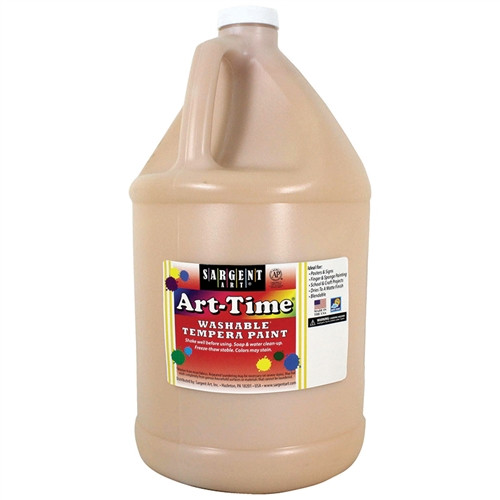 Art-Time Washable Paint Peach - 1 Gal.