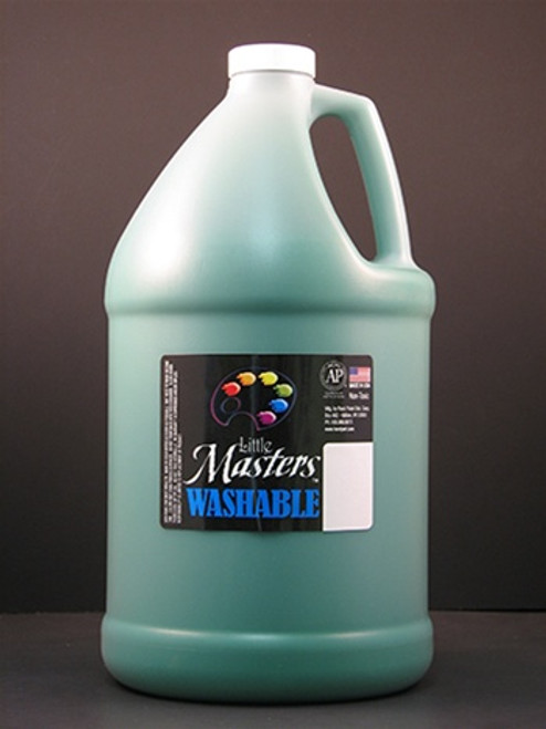 Little Masters Green 128oz Washable