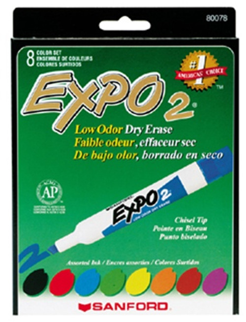 Marker Expo 2 Dry Erase 8 Color