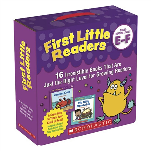 First Little Readers Parent Pack Guided Reading Level E F