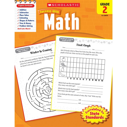 Scholastic Success With Math Gr 2