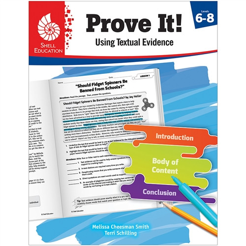 Prove It Using Textual Evidence Level 6-8