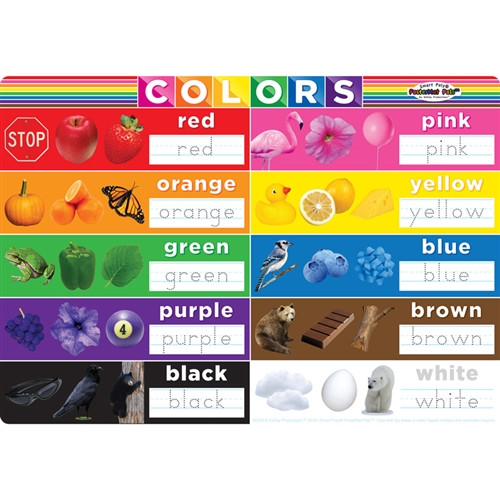 Colors Postermat Pals Smart Poly Single Sided - 12 in. x 17.25 in.