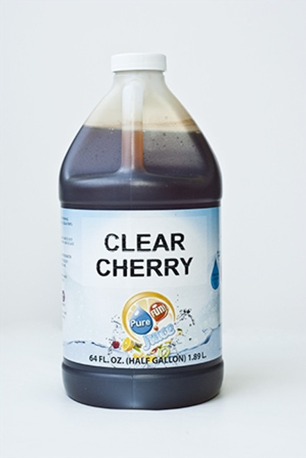 PureFUN! Clear Cherry Flavored 100% Juice Blend Concentrate