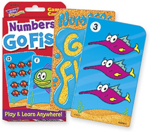 Challenge Cards Numbers Go Fish