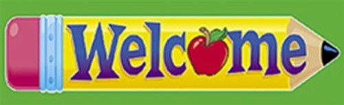 Bookmarks Welcome Pencil 36/Pk