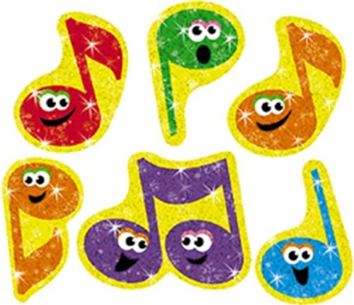 Sparkle Stickers Merry Music