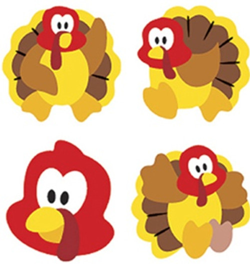 Supershapes Stickers Turkey Time