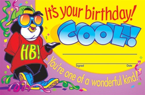 Awards Its Your Birthday Cool 30/Pk