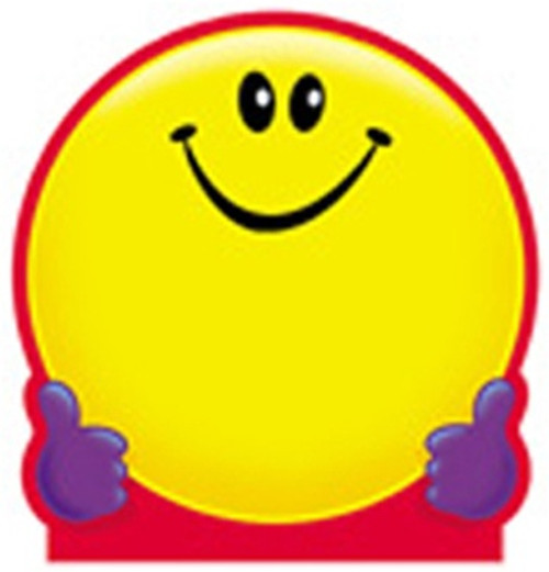Note Pad Smiley Face 50 Sht 5x5