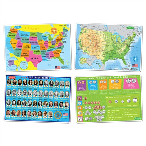 Smart Poly Us Education Learning Mats