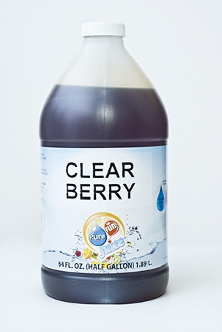 PureFUN! Berry Flavored 100% CLEAR Juice Blend Concentrate