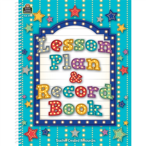 Marquee Lesson Plan And Record Book