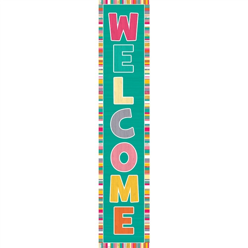 Tropical Punch Welcome Banner - 8 in. x 39 in.