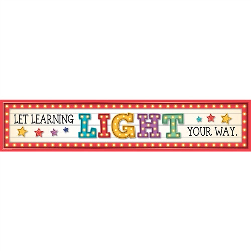 Marquee Learning Light Your Way Banner