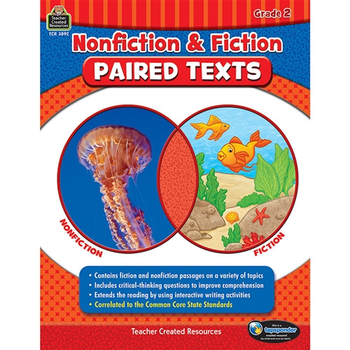 Nonfiction Fiction Paired Texts Gr 2