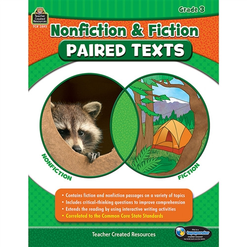 Nonfiction Fiction Paired Texts Gr 3