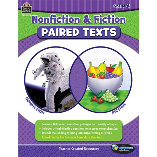 Nonfiction Fiction Paired Texts Gr 4