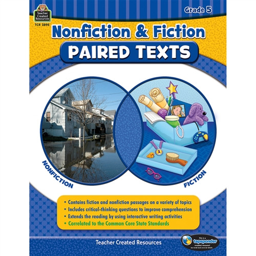 Nonfiction Fiction Paired Texts Gr 5