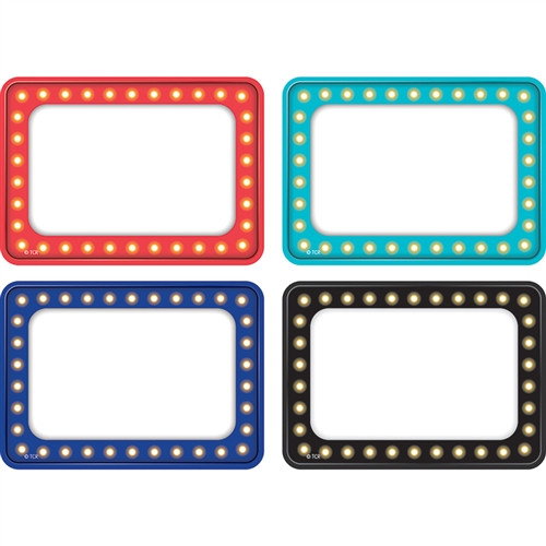 Marquee Multi Pack Name Tag Labels - 4 in. x 6 in.