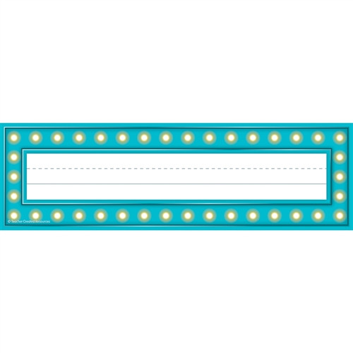 Marquee Name Plates - 3.5 in. x 11.5 in.