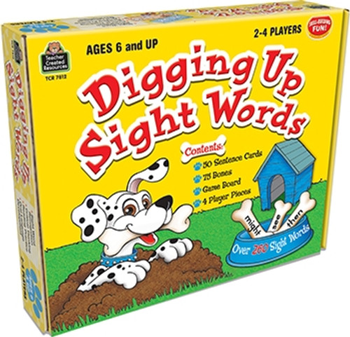 Digging Up Sight Words Game Ages 6 and Up