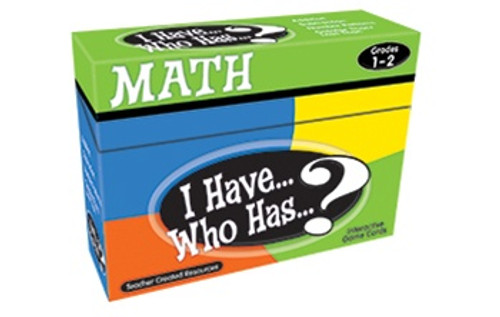 I Have Who Has Math Games Gr 1-2