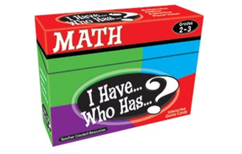 I Have Who Has Math Games Gr 2-3