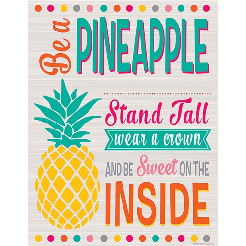 Tropical Punch Be A Pineapple Chart - 17 in. x 22 in.